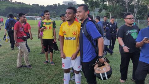 Amri Yahyah Selangor friendly match 17052017