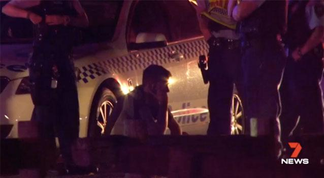 Sydney driver allegedly using phone during collision with RBT police