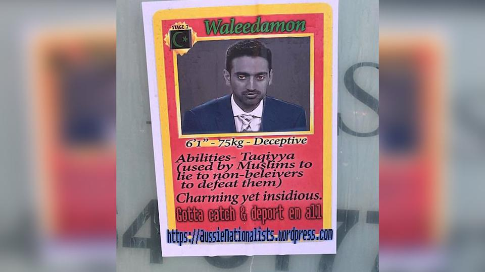 Racist Pokémon inspired posters appear in Sydney
