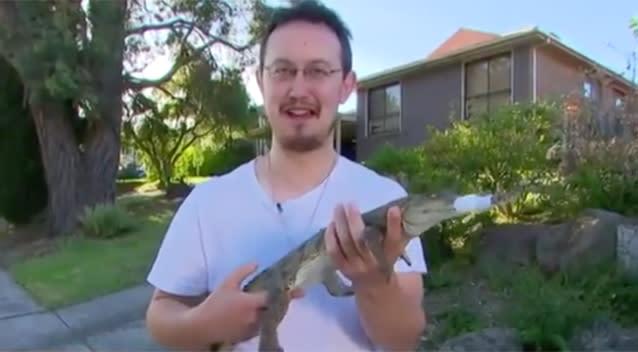 Lost croc has holiday at Vic sanctuary
