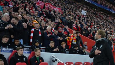 Liverpool fans Jurgen Klopp