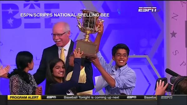 Co-winners declared in 2015 Scripps Spelling Bee