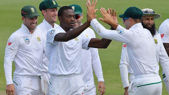 Rabada gets in Warner's face as SAfrica control 2nd test