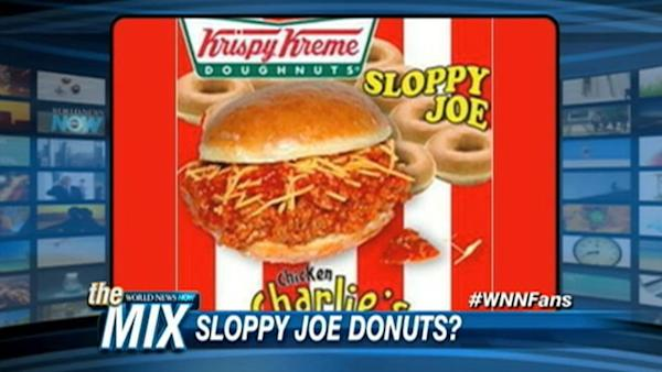 Krispy Kreme Donuts Get Sloppy