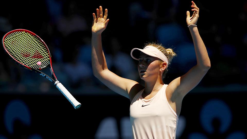 Marta Kostyuk enjoying early success at Australian Open