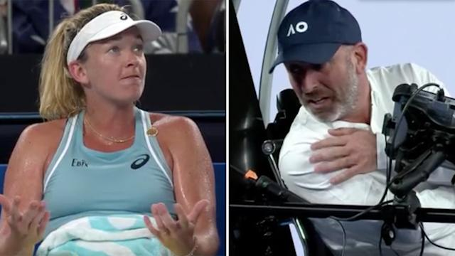 Furious Vandeweghe in freakish blow-up over bananas