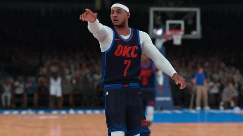 Carmelo Anthony Oklahoma City Thunder NBA 2K18