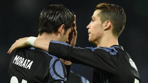 Cristiano Ronaldo, Alvaro Morata, Real Madrid 2017