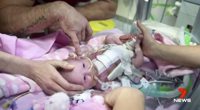 Vanellope Hope was born prematurely in Leicester on November 22