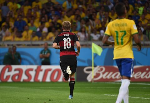 Brazil's Gabriel Jesus header ends Germany's 22-match unbeaten run in Berlin