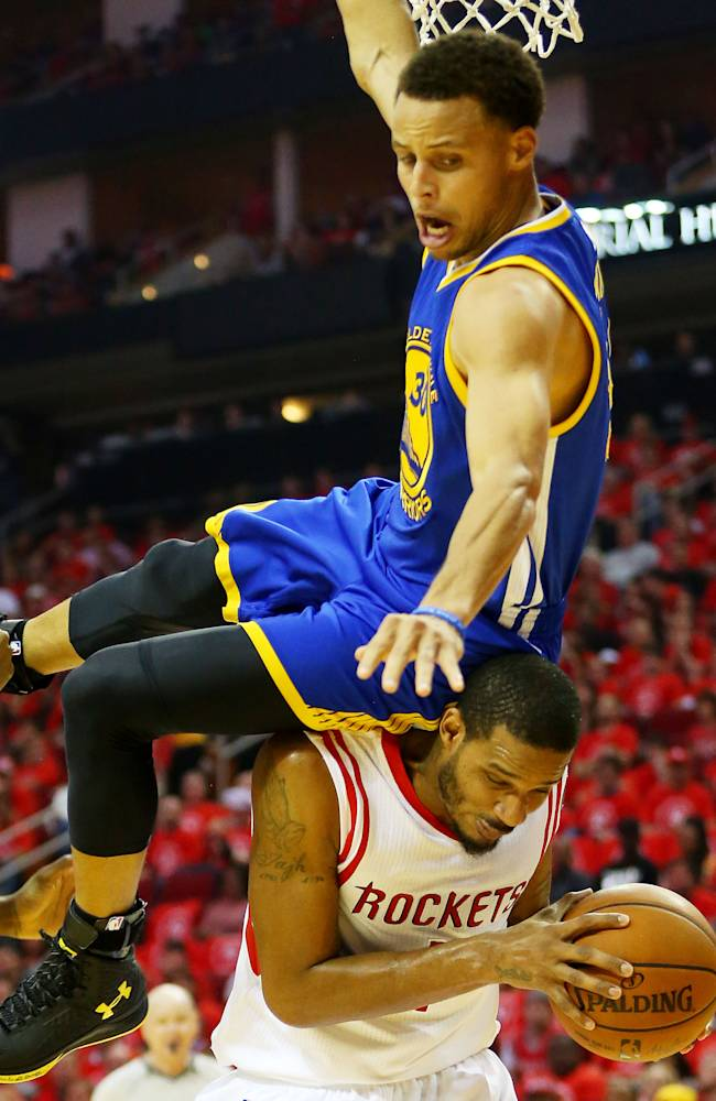 NBA MVP Curry OK after fall as Warriors lose to Rockets