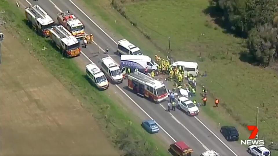 Girl dead, two critical in Sydney van crash