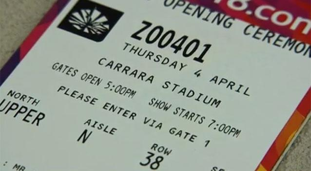 Gold Coast Commonwealth Games: Wrong date printed on opening ceremony tickets