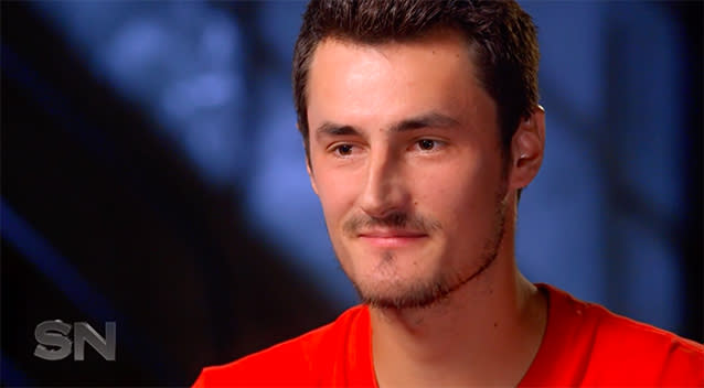 Tomic amazed he's done so well at tennis