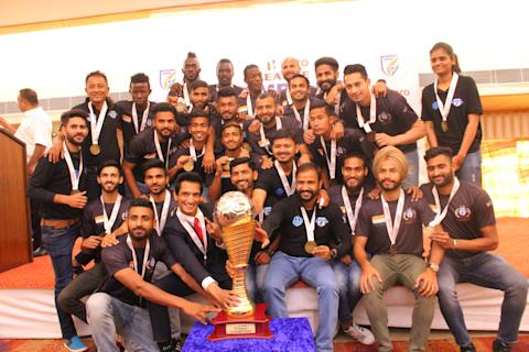 Minerva Punjab I-League trophy