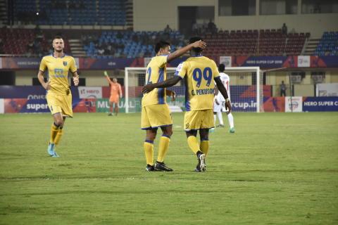 Kerala Blasters NEROCA FC Super Cup 2018