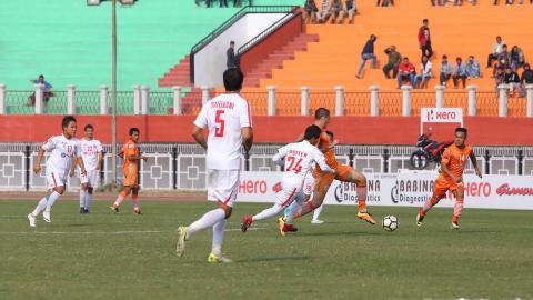 NEROCA FC Aizawl FC I-League 2017/2018