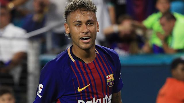 PSG president Al-Khelaifi: Is there a Neymar buyout clause...?