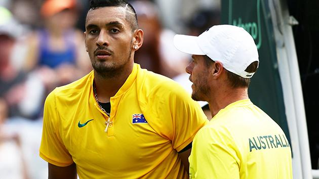 Davis Cup: American Sock to play Aussie Thompson to open QF