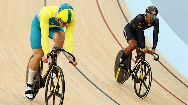 Aussie Matt Glaetzer suffers shock defeat in men's sprint