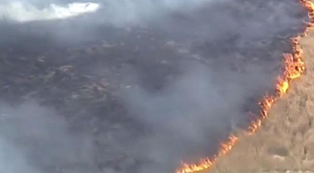 Homes burned to the ground in Victorian bushfires