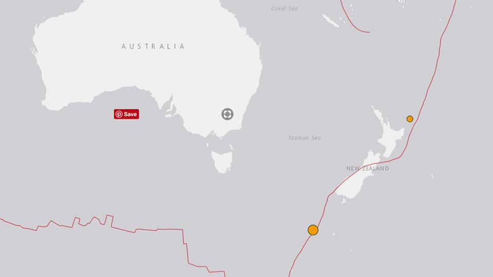 Quake jolts central New Zealand