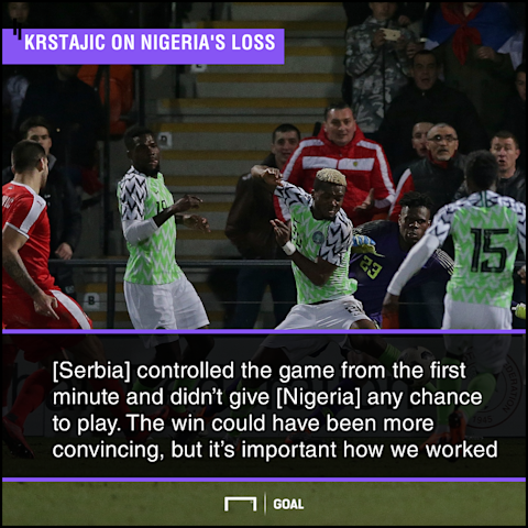 Amuneke reveals why Super Eagles lost to Serbia