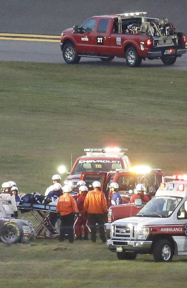 Busch crash leading to additional SAFER barriers at tracks