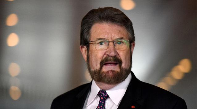 'Human headline' Derryn Hinch suffers 'brain trauma' falling from Uber