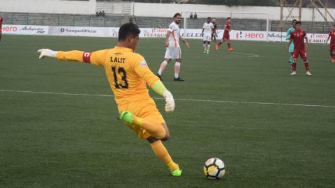 Lalit Thapa Shillong Lajong FC NEROCA FC I-League 2017/2018