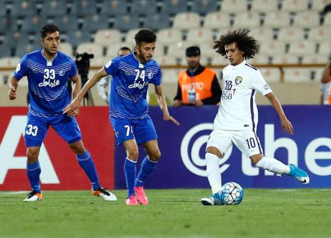 Esteghlal vs Al Ain; Abdulrahman