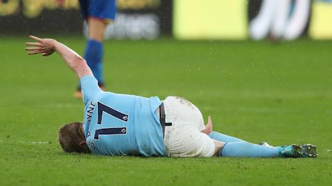 Tearful Gabriel Jesus forced off for City