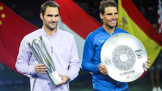 Federer lands 94th title with hot shots in Shanghai