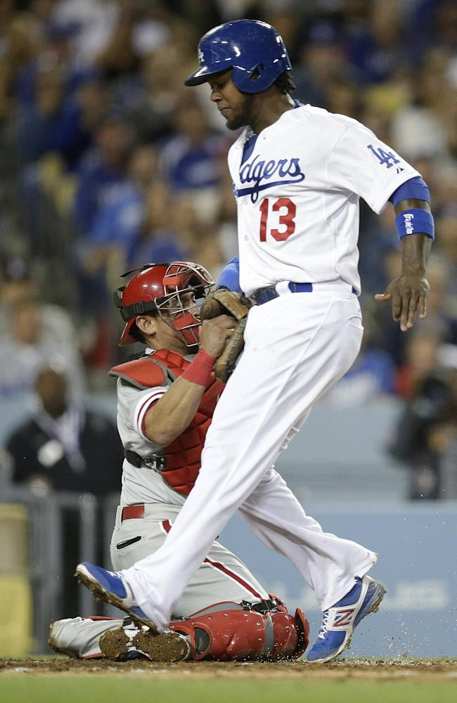 Byrd's 4 RBIs help Phillies beat Dodgers 7-3