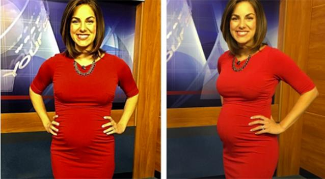 Pregnant TV news anchor attacked as 'disgusting watermelon' in hateful viewer voicemail