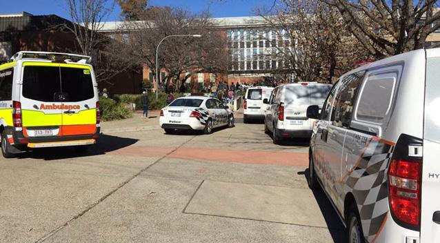 Students injured in 'attack' at Canberra University