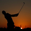 Golf - Abu Dhabi HSBC Golf Championship - Abu Dhabi Golf Club, United Arab Emirates - 23/1/16 Northern Ireland's Rory McIlroy plays his second shot at the 9th hole during the third round Action Images via Reuters / Paul Childs