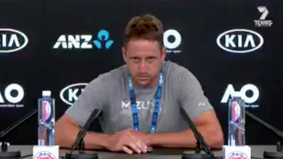 VFL Tennys Sandgren loses in quarterfinals at Australian Open