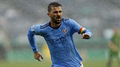 HD David Villa New York City FC