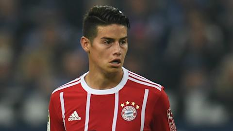 James Rodriguez Bayern Munich