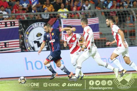 Rufino Segovia, Selangor, Malaysia Super League, 04022018