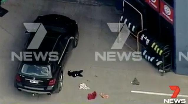 Man dead, another seriously injured after shooting at Melbourne vehicle store