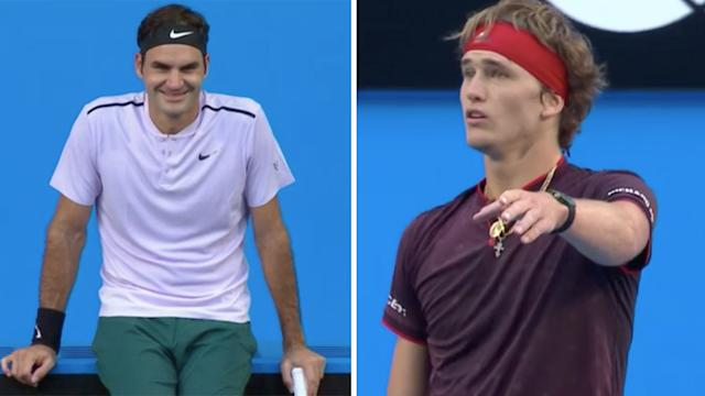 Federer beats Zverev in Hopman Cup final