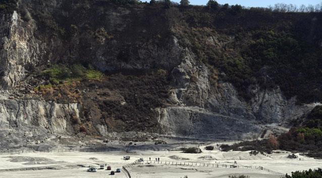 An Italian couple and their son have reportedly died after falling into the Solfatara crater near Naples