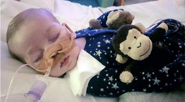 The 11-month-old has been at the centre of a long legal battle