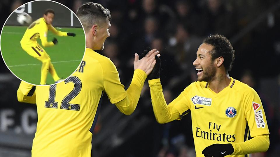Watch: PSG's Kylian Mbappé Sent Off By VAR For Stamp