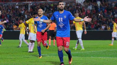 Mohammed Ghaddar, Johor Darul Ta'zim, Selangor, Malaysia Cup