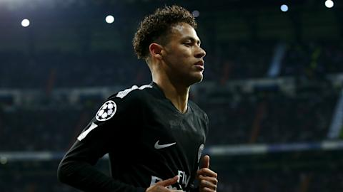 Neymar Real Madrid PSG UEFA Champions League 02142018