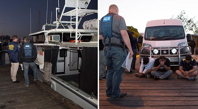 Largest meth bust in Australian history worth $1.04 billion weighing 1.2 tonnes
