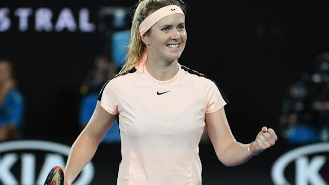 AUSTRALIAN OPEN - Mertens makes first major quarterfinal, faces Svitolina
